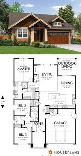 bungalow house plan 86121 total living area 1907 sq ft 4