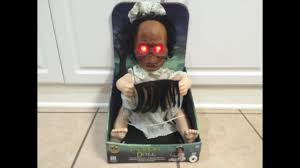 lil skelly bones spirit halloween face off baby doll spirit halloween 2015 youtube