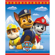 paw patrol halloween background buy paw patrol plastic treat bags 8