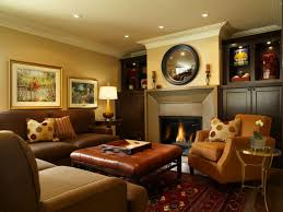 Home Interiors Decorations Furniture Family Room Decorating Ideas With Leather Furniture