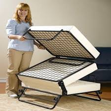 Rv Bed Frame Rv Ottoman That Doubles As A Memory Foam Pull Out Bed
