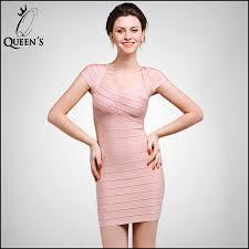 Womens Light Pink Dress 2015 New Women Hl Light Pink Short Cap Sleeves Summer Dress Casual