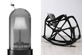 joris laarman lets his skeletal chairs and hamster cell lamps do their