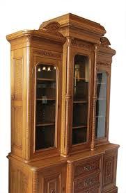 carpathian elm bookcase wooden nickel antiques