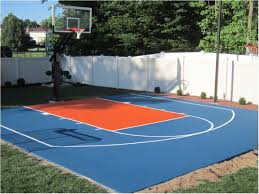 how much would a backyard basketball court cost home outdoor