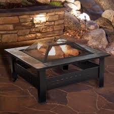 Hanamint Reviews by Wood Burning Fire Pit Table Interiors Design