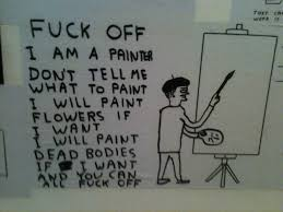 a painter cornerhouse manchester i am a painter don u0027t tell me what to