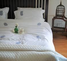 White Cotton Duvet Cover King Embroidered Paisley Duvet Cover On Pure White Cotton Online India