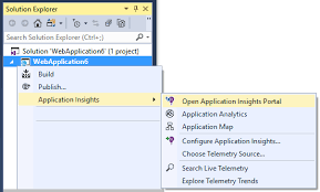 set up web app analytics for asp net with azure application