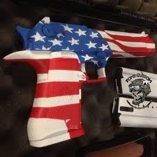Eagle American Flag Desert Eagle With American Flag Theme Toms Custom Guns