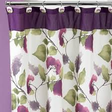 purple shower curtains for less overstock com vibrant fabric