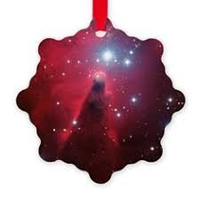 flaming nebula ornament ornaments and decor for