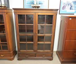 glass door bookcase by drexel heritage furniture eastern office