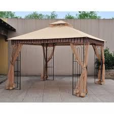 Home Depot Pergola by Garden Hampton Bay Gazebo For Inspiring Pergola Design Ideas