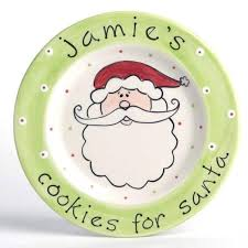 cookies for santa plate personalized cookies for santa plate crafty yankee