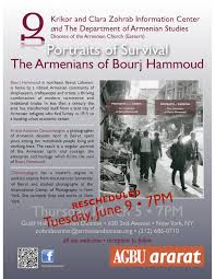 portraits of survival the armenians of bourj hammoud tuesday