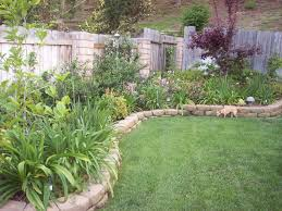Raised Rock Garden by Easy Diy Landscaping Build A Rock Garden Outdoor Best Berm Images