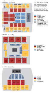 United Center Seating Map New York Entertainment And Events Turning Stone Resort Casino