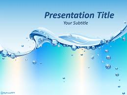 Water Powerpoint Templates by Www Myfreeppt Wp Content Uploads 2015 08 Water