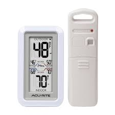 Patio Clocks Outdoor Thermometer Shop Thermometer Clocks At Lowes Com