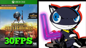 player unknown battlegrounds xbox one x 60fps xbox fanboys thought pubg was 60fps on the xbox one x youtube