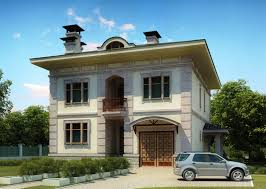10 Marla Home Front Design by 3d Front Elevation Of House Good Decorating Ideas