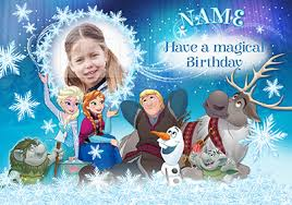 kids birthday cards disney frozen cards funky pigeon