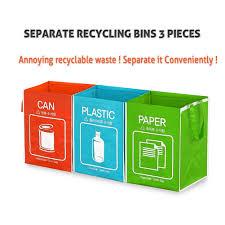 amazon com recycle bag separate recycle bin waterproof waste