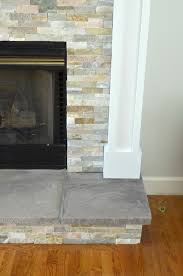 diy fireplace makeover tiled fireplace stone tiles and stone