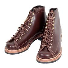 stylish and cool mens brown leather boots by lone wolf