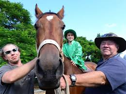trainer asks for luck of the irish for st patrick u0027s day race