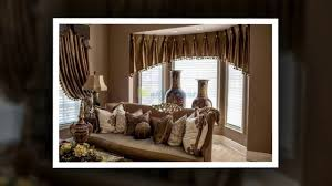 daily decor living room bay window curtain ideas youtube