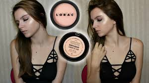 lorac primer light source lorac light source illuminating highlighter first impression youtube