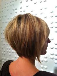 short layered bob hairstyles front and back view within layered