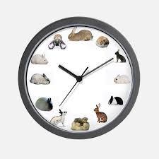 Wall Clocks Rabbit Clocks Rabbit Wall Clocks Large Modern Kitchen Clocks