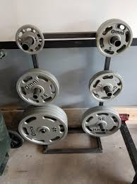 made up a one sided weight tree homegym