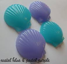 seashell soaps seashell soap party favors for nautical or