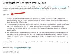 create a business profile on linkedin how to change the url with a linkedin company page quora