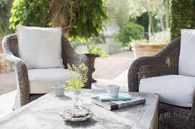 what is wicker outdoor furniture glossary