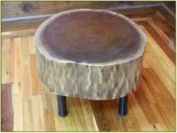 Tree Stump Side Table Natural Tree Stump Side Table Home Design Ideas