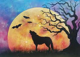 halloween paintings ideas 171 best free acrylic painting tutorial videos by angela anderson