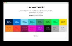 list of color colors default web palette replacement progville
