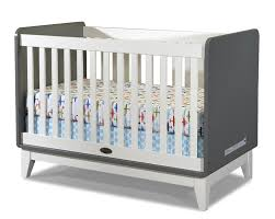 Tribeca Convertible Crib Baby Relax 3in1 Upholstered Crib White Target Delta Children