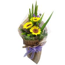 bouquet of sunflowers send sunflower bouquet floral symphony
