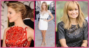 celebrities trends of fashions and hairstyle celebrity fashion trend u2013 laser cut fabric on nicole dianna and