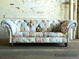 Patchwork Chesterfield - floral sofas and chairs silver floral and sofa linen sofas