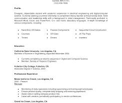 undergraduate curriculum vitae pdf exles resume template undergraduate format pdf curriculum vitae student