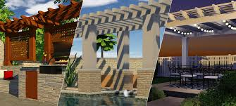 Pergola Design Software by 3 Ways To Incorporate A Pergola Design Into Your Plans