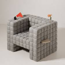 nothing gets lost in this pin cushion chair