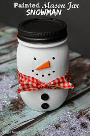 halloween glass jars craft ideas for snow man mason jars google search